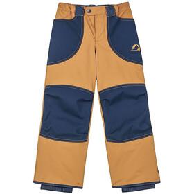 Finkid Tobi Pantalon De Pluie Garçon, cinnamon/navy